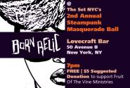 2nd Annual steampunk masquerade ball